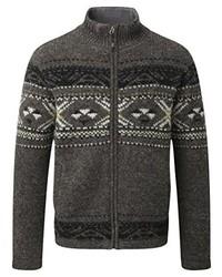 Jersey en marrón oscuro de Sherpa