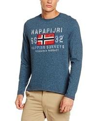 Jersey en verde azulado de Napapijri