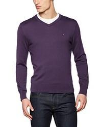 Jersey en violeta de Tommy Hilfiger