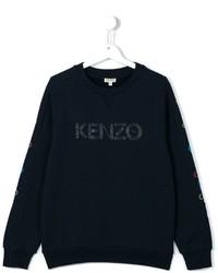 Jersey estampado azul marino de Kenzo