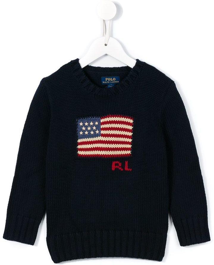 Jersey estampado azul marino de Ralph Lauren
