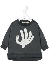 Jersey estampado en gris oscuro
