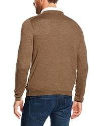 Jersey marrón claro de Napapijri
