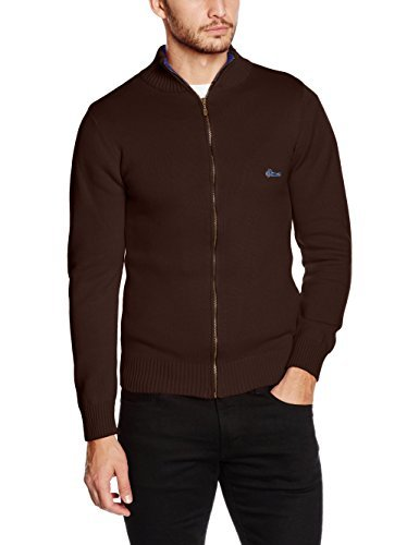 Jersey marrón de VICKERS