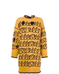Jersey oversized amarillo de Fendi