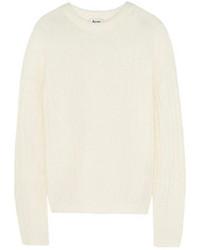 Jersey oversized blanco de Acne Studios