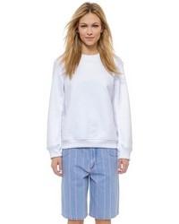 Jersey oversized blanco de Alexander Wang