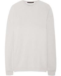 Jersey oversized blanco de Haider Ackermann