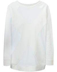 Jersey oversized blanco de Marcelo Burlon County of Milan