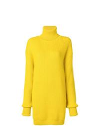 Jersey oversized de punto amarillo de Maison Margiela