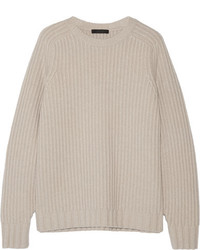 Jersey Oversized de Punto Beige de The Row
