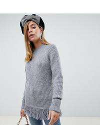 318b06e8e6f0 Comprar un jersey oversized de punto gris de Asos: elegir jerséis ...