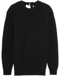 Jersey oversized de punto negro de Alexander Wang