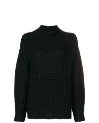 Jersey oversized de punto negro de IRO