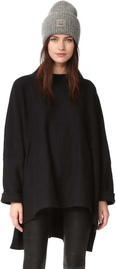 ... shopbop.com › OAK › Jerséis oversized de punto negros Jersey oversized  de punto negro de OAK ... 133b52153e12