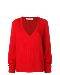 Jersey oversized de punto rojo de IRO