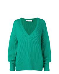 Jersey oversized de punto verde de IRO