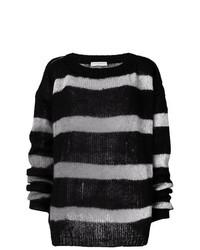 ... Jersey oversized de rayas horizontales en negro y blanco de Faith  Connexion 006fcd05c009