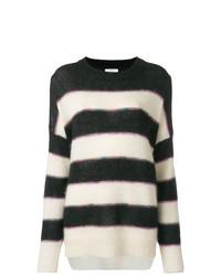 ... Jersey oversized de rayas horizontales en negro y blanco de Isabel  Marant Etoile 419a264071a8