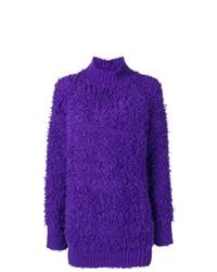 Jersey oversized en violeta de Marni