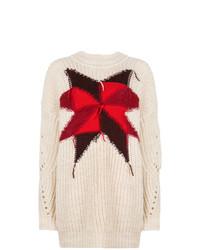 Jersey oversized estampado en beige de Isabel Marant