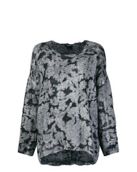 Jersey oversized estampado gris de Avant Toi