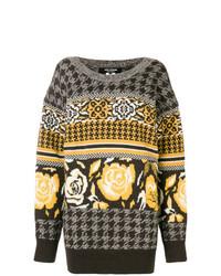 Jersey oversized estampado gris de Junya Watanabe