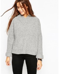 Jersey oversized gris de Asos