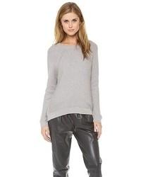 Jersey oversized gris de Vince