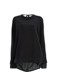 Jersey oversized negro de Ann Demeulemeester