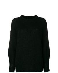Jersey oversized negro de Isabel Marant