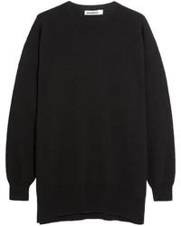 Jersey oversized negro de Jil Sander