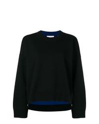 Jersey oversized negro de Paco Rabanne
