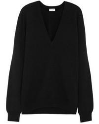 Jersey oversized negro de Saint Laurent