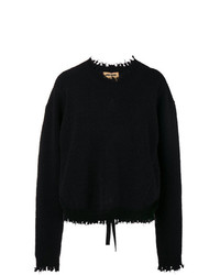 Jersey oversized negro de Uma Wang