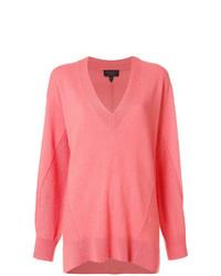 Jersey oversized rosado de Rag & Bone