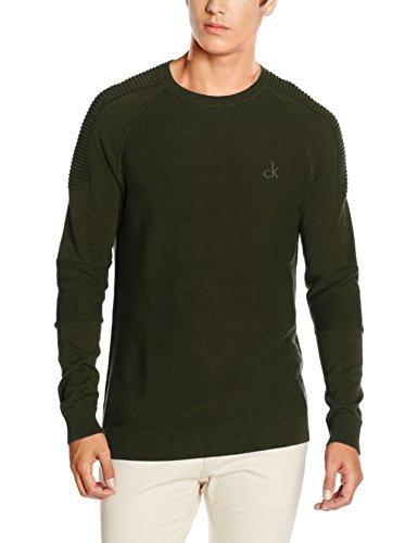 Jersey verde oliva de Calvin Klein Jeans