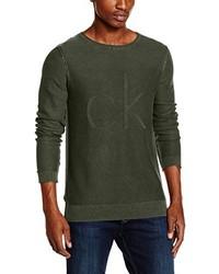 Jersey verde oliva de Calvin Klein