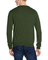 Jersey verde oscuro de Gant