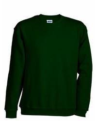 Jersey verde oscuro de James & Nicholson