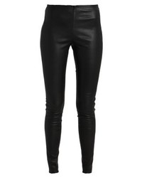 Leggings de Cuero Negros de YAS Tall