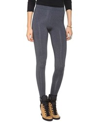 Leggings en gris oscuro de David Lerner