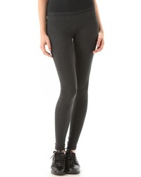 Leggings en gris oscuro de So Low