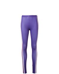 Leggings en violeta de Marcelo Burlon County of Milan