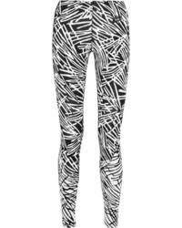 Leggings estampados en negro y blanco de Nike