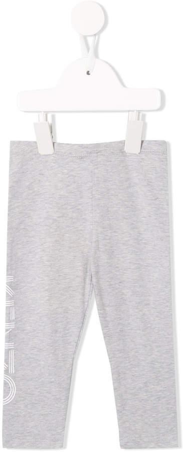 Leggings estampados grises de Kenzo