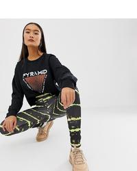 Leggings estampados negros de New Girl Order
