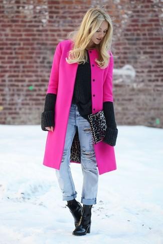 Abrigos de mujer en rosa