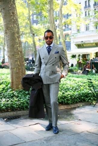Unos De Zapatos Pantalón 19 Azules Gris Un Con Vestir Cómo Combinar BqxR0R4