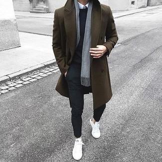 Bufanda gris de Gucci